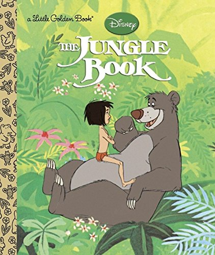 The Jungle Book (Disney the Jungle Book) (Little Golden Books)