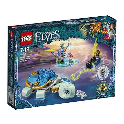 LEGO – 41191 – Elves – Jeu de Construction – Naida et le Piège de la Tortue d'Eau