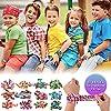 THE TWIDDLERS 12 braccialetti slap a scatto in 12 diversi disegni e colori a scelta. Bracciali per bambini perfetti come regalini da festa, da inserire nei sacchetti o come premi da estrazione