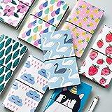 Zhi jin speciale, in pelle, taccuino di carta Notepad diario per ufficio scuola ragazze regalo Swan Lake