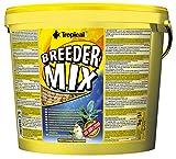 Tropical Breeder Mix Flockenfutter ohne künstliche Farbstoffe