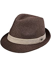 Sombrero Trilby Hombres Muchacho Paja Primavera Verano Sombrero de Sol Tres Tamaños