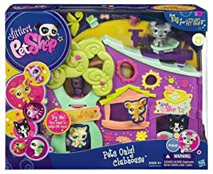 Littlest Pet Shop Pets Only! Clubhouse Playset by Hasbro TOY (English Manual)