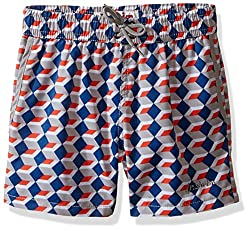 Jr. Swim Little Boys Toddler Jr.Swim Boxes Trunks, Grey, 4T