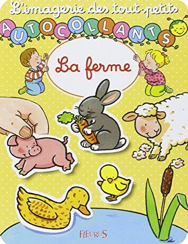La Ferme (autocollants) par Nathalie Belineau