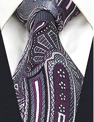 WZW Homme Rétro Mignon Soirée Travail Décontracté Soie Cravate.Tissu cachemire