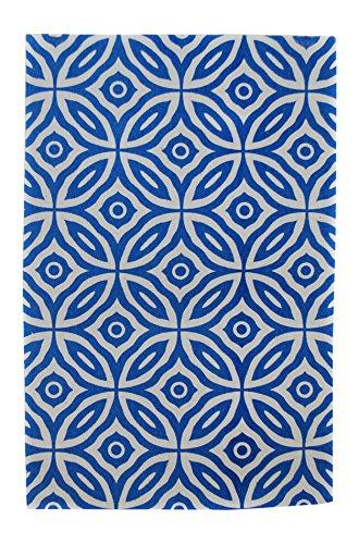 Signes Grimalt 124861 - Alfombra impresa, 55 x 85 cm, color azul