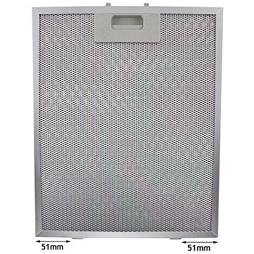 fettfilter metall universal Spares2go Universal Dunstabzugshaube Metall Fettfilter (Silver, 320 x 260mm)