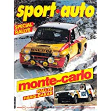SPORT AUTO . N° 228 . Janvier 1981 . Monte Carlo . Paris - Dakar .