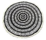 Dosige Badetuch Drucktücher Yoga Matten Hippie Runde Mandala Strandtücher Mikrofaser Tapestry Wandteppich Wickelrock D
