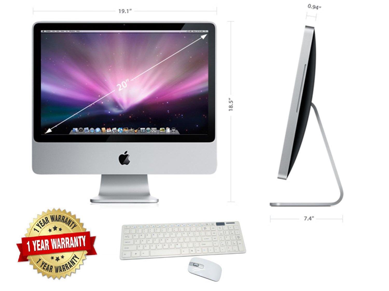 APPLE-IMAC-A1224-inCORE-2-DUOin-20-24GHZ-4GB-RAM-160GB-HDD-20in-SCREEN-OS-X-EL-CAPITAN-Renewed