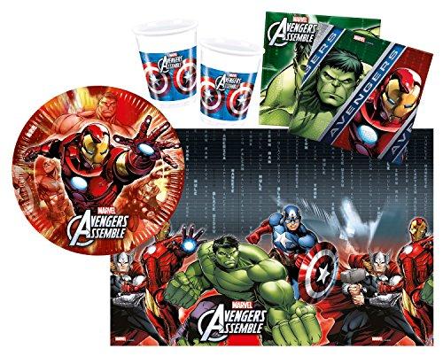 derpartyset Avengers Multi Heroes, Größe S, 37 teilig (Geburtstag Avengers)
