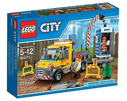 Preisvergleich Produktbild LEGO City 60073: Service Truck by LEGO