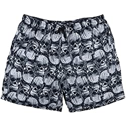 Abraxas Pantalón estampado negro-gris