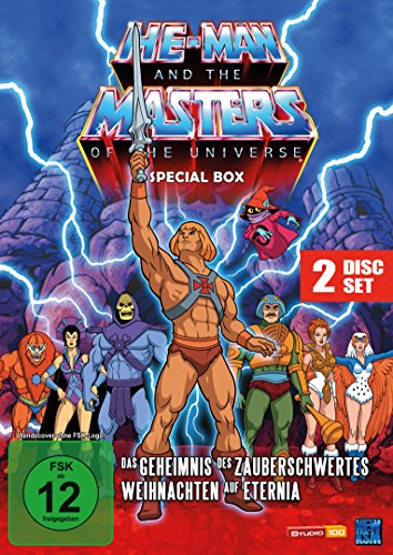 He-Man and the Masters of the Universe - Weihnachts Special Box (New Edition im 2 Disc Set) (Weihnachts-special Dvd)
