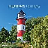 Leuchttürme 2018 - Lighthouses - Broschürenkalender (30 x 60 geöffnet) - Landschaftskalender - Wandplaner