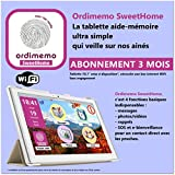 Tablette Aide-mémoire SweetHome abonnement 3 mois [pour sénior]