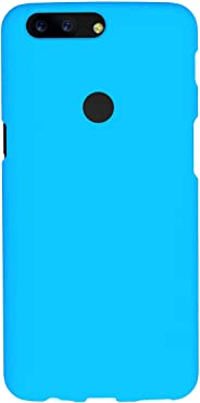 Amazon Brand - Solimo Mobile Cover (Soft & Flexible Back case) for OnePlus 5T (Blue)