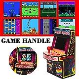 Yunt Mini máquina de Juegos Arcade, 240 Juegos portátiles de Mano, máquina portátil para niños con 2.5'Pantalla Ocular protegida, 8 bits
