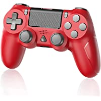 YTEAM Wireless Controller für PS4, Kabellos Gamepad Joystick mit Dual Motors, Motion/ 6-Achsen Gyro Sensor Game…