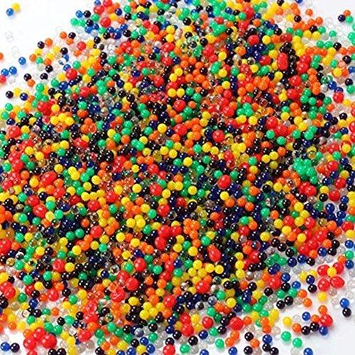 flyyfree 5000X colori assortiti cristallo acqua Gel Perline in perle d' acqua dolce (Mix)