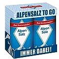 Bad Reichenhaller Alpensalz Salz Ministreuer Streuer 2er Pack Camping Outdoor Wander Equipment von Bad Reichenhaller bei Gewürze Shop