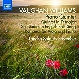 Vaughan Williams: Piano Quintet [London Soloists Ensemble] [Naxos: 8.573191]