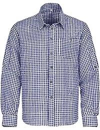 Trachtenhemd für Trachten Lederhosen Freizeit Hemd rot,balu,grun-kariert  Gr. S 3c39290729