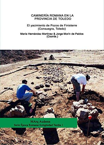 Caminería romana en la provincia de toledo. El yacimiento de Pozos de Finisterre (Consuegra, Toledo) (MArq Audema) por Mercedes Sánchez García-Arista