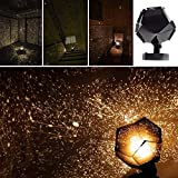 Newtrends Celestial Star Astro Sky Projection Cosmos Night Lights Projector Night Lamp Starry Romantic Bedroom Decoration Lighting Gadget