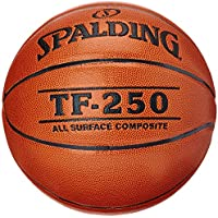 Spalding TF250 IN/OUT SZ.6 (74-532Z) balón de baloncesto int/out, naranja, 6