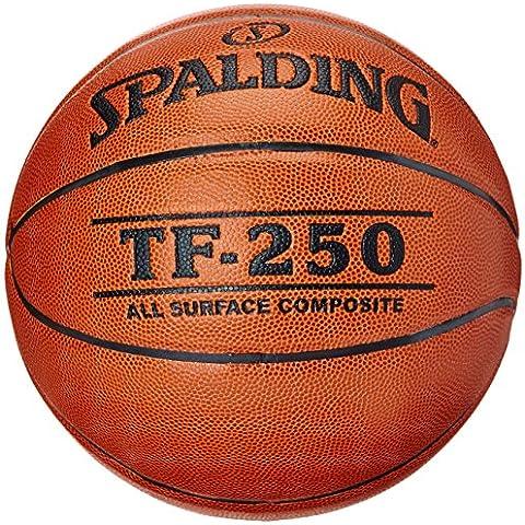 Spalding Spalding TF250 in/out sz.6, (74-532Z) - Pelota de baloncesto ( cuero, interior, juego, composite ) , color naranja, talla