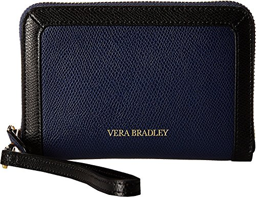Vera Bradley Grab Go Wristlet Classic Navy Wristlet Handbags - Bradley Vera Handtaschen Leder Aus