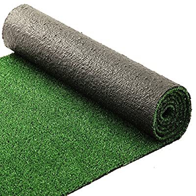 casa pura® Artificial Grass Turf, Green | Indoor & Outdoor Sports Flooring | UV Resistant | Over 20 Sizes
