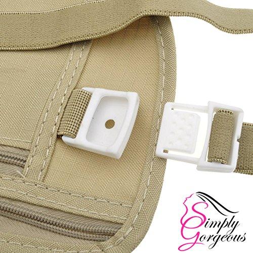 Einfach herrliche ReisetascheCompact Sicherheit Geld Gürtel