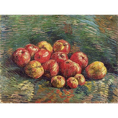 Vincent Van Gogh Apples Large Art Print Poster Wall Decor Premium Mural Große Kunst Wand Deko Van Apple