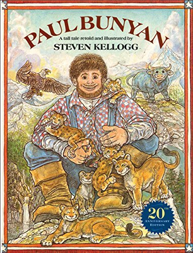 Paul Bunyan (Reading rainbow book) by Steven Kellogg (1985-07-06)
