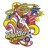 Wonder Woman Warrior Princess Superhero DC Comics Embroidered Iron On Applique Patch ÉcussonPatch en fer brodé sur accessoire Souvenir Applique