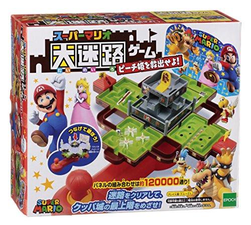 Mario large maze game Princess Peach! (Mario Maze)