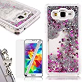 We Love Case Cristal Gliter Sparkle Coque pour Samsung Galaxy Grand Prime...