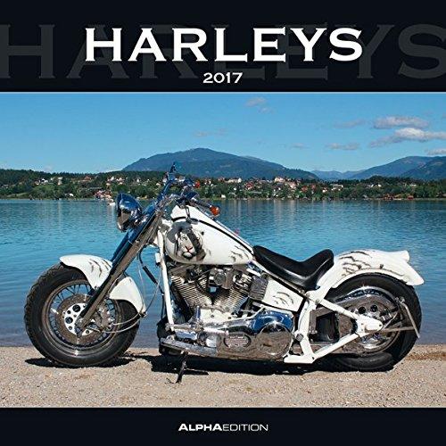 Preisvergleich Produktbild Harleys 2017 - Broschürenkalender (30 x 60 geöffnet) - Motorradkalender - Fahrzeuge - Wandplaner