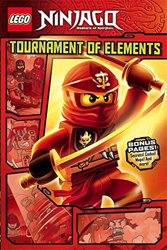 Tournament of Elements (Graphic Novel): Book 1 (LEGO Ninjago) by Greg Farshtey (2015-10-01)