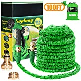 AIBIDUO Hose Pipe Expandable Garden Hose 100Ft {IMPROVED}Magic Water Hose Pipe Double Latex