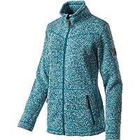 McKinley Damen Freizeit Outdoor Wander Fleece Jacke RUBIN II navy blau meliert