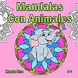 Best Disney Libros Para Niños 8-10s - Mandalas Con Animales: Libro de colorear para niños Review