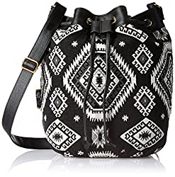 Kanvas Katha Womens Handbag (Black) (KKBKT002)