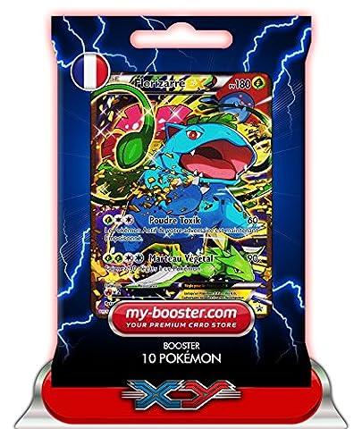 FLORIZARRE EX FULL ART XY123 180PV XY11 - Booster de 10 cartes Pokemon francaises my-booster