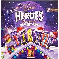 Cadbury Heroes Christmas Advent-ure Chocolate, 232 g