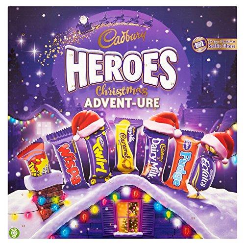 Cadbury Heroes Advent-ure Schokolade, 232 g
