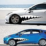 mark8shop un Lot de 1.3M Longueur WRC Big Shark voiture Taille Guirlande Sticker BK